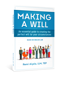 Making a Will book
